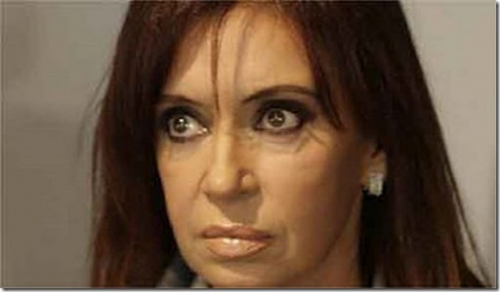 Cayo 20 puntos imagen positiva de Cristina Fernandez K