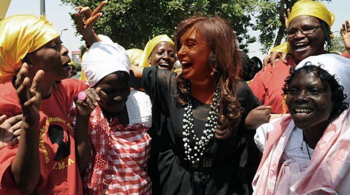 Resultado de imagen para Cristina en Angola