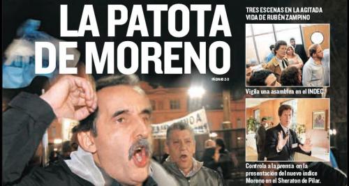 Escrachan a Gillermo Moreno ex secretario de CFK