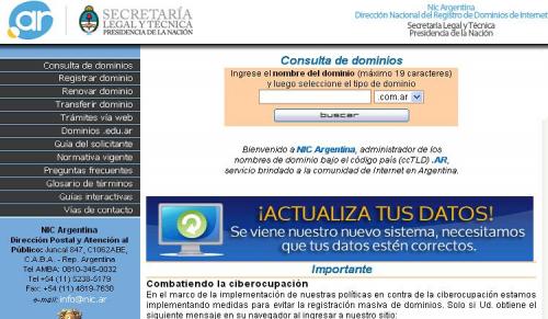 Términos prohibidos y censura en dominios de Internet