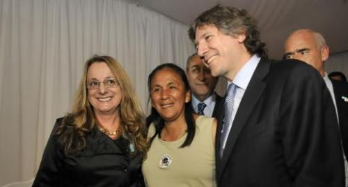 Invitada por el kirchnerismo, Milagro Sala se paseó por el Congreso