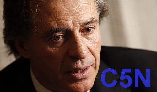 """Laje y el primer caso de censura en el """"nuevo"""" C5N de"""