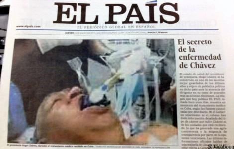 La foto de Chávez: la jugada de El País que puede terminar en papelón mundial