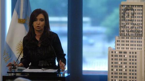 """CFK: """"La diabetes es una enfermedad de gente con alto pode"""