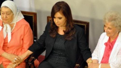 Cristina y su hipócrita discurso sobre la dictadura militar
