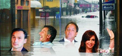 Cuando la política hace agua