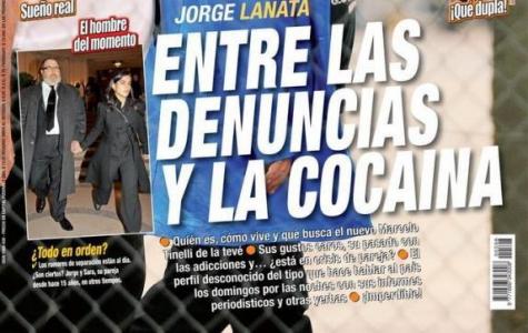 La operación contra Lanata llegó hasta Paparazzi