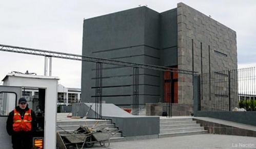 """Arnold: """"El mausoleo de Néstor también es una caja"""""""