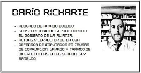 ¿Quién es Darío Richarte, el abogado de Boudou?