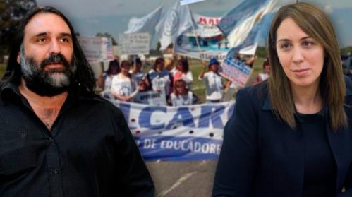 "Baradel: ""Vidal es una HDP y le falta sexo"""