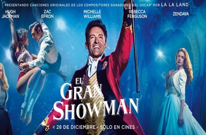 El Gran Showman (2017) [[BRRip 1080p] [Latino] [1 Link] [MEGA]