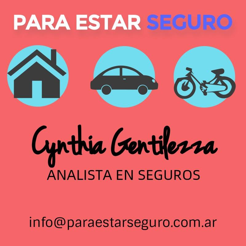 Cynthia Gentilezza. Analista en seguros