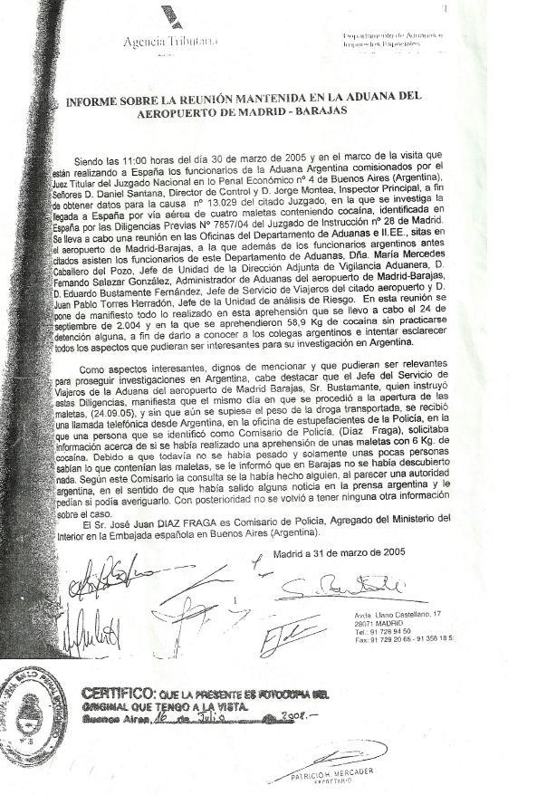 An bal fern ndez un historial de drogas y crimen for De que se encarga el ministerio del interior